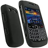 "igadgitz Hartschalentasche Hardcase Etui Case Schutzh�lle Tasche H�lle in Schwarz f�r BlackBerry Bold 9700 + Display Schutzfolievon ""igadgitz"""