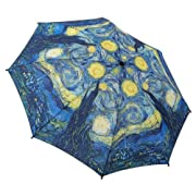 Galleria Starry Night Folding Umbrella (Starry Nights)