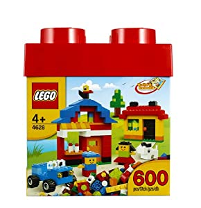 LEGO Fun with Bricks 600-Piece Building Set, #4628