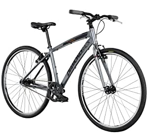 Diamondback Bicycles 2014 Insight STI-1 Performance Hybrid Bike (700cm Wheels), 16-Inch, Grey