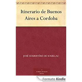 Itinerario de Buenos Aires a Cordoba