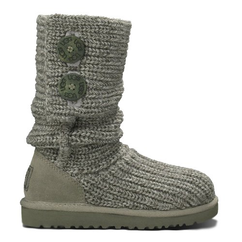 knitted grey uggs