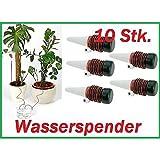 10x Bew�sserung f�r Pflanzen Bew�sserungssystem Wasserspender Urlaub Tropfer