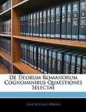 img - for De Deorum Romanorum Cognominibus Quaestiones Selectae (Swedish Edition) book / textbook / text book