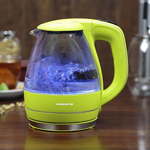 1 59 Qt Electric Tea Kettle Color Green