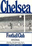 Chelsea v Arsenal official programme 27/09/1969