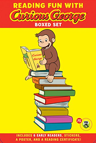 Reading Fun with Curious George Boxed Set (Green Light Readers. Level 1: Curious George)