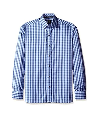 Ike Behar Men's Check Sportshirt