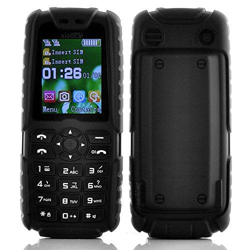 XIAOCAI X6 TELEFONO CELLULARE DA LAVORO RESISTENTE ROBUSTO RUGGED DUAL SIM ANTIURTO POWER BANK IMPERMEABILE CORAZZATO IP67