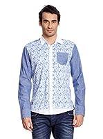 Redbridge Camisa Hombre (Blanco / Azul)