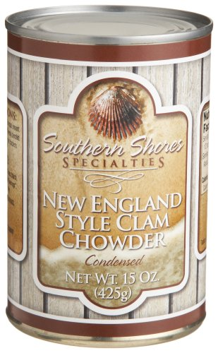 Southern Shores Specialties New England Style Clam Chowder, 15-Ounce Tins (Pack of 4) at Sears.com