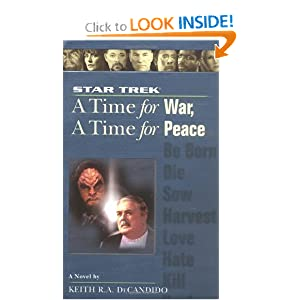 Star Trek: A Time for War, A Time for Peace (Star Trek)(Star Trek The Next Generation)(Star Trek Deep Space... by
