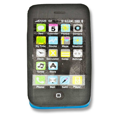 Radiergummi Handy Smartphone Touch Handy Mobile Phone blau