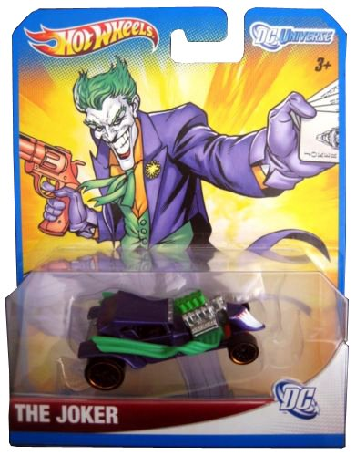 Hot Wheels DC Universe The Joker Die Cast Vehicle - 1