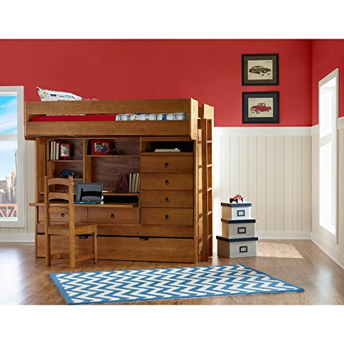 Video Review Powell Wyatt Full Over Twin Bunk Bed