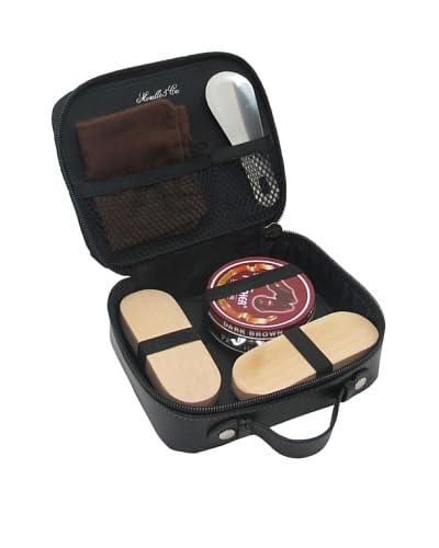 Morelle & Co. Wilson Leather Shoe Shine Kit