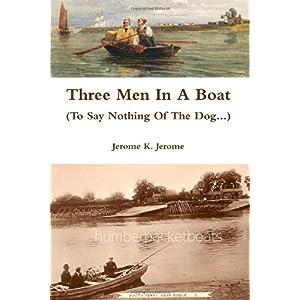 Three Men in a Boat Book Cover