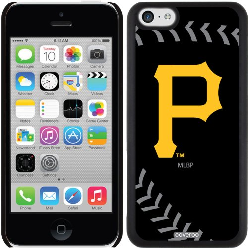 Pittsburgh Pirates - Stitch Design On A Black Iphone 5c Thinshield Snap-on Case By Coveroo