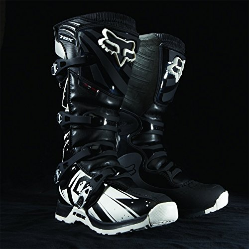 FOX RACING MENS COMP 5 MX MOTOCROSS ENDURO QUAD BOOTS BLACK UK SIZE 11