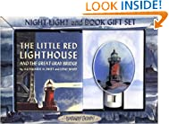 The Little Red Lighthouse and the Great Gray Bridge Gift Set: Night-light and Book