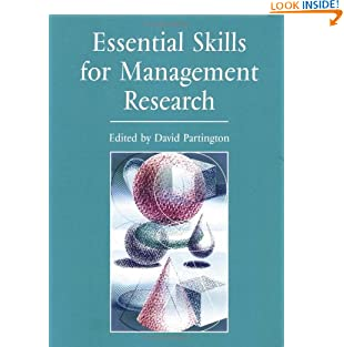 Essential Skills for Management Research (Paperback)