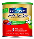 Enfagrow Toddler Next Step  Vanilla, for Toddlers 1 Year and Up 72 Ounce