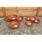 Set of 8 Tapas Dishes (4x14cm & 4x10cm)