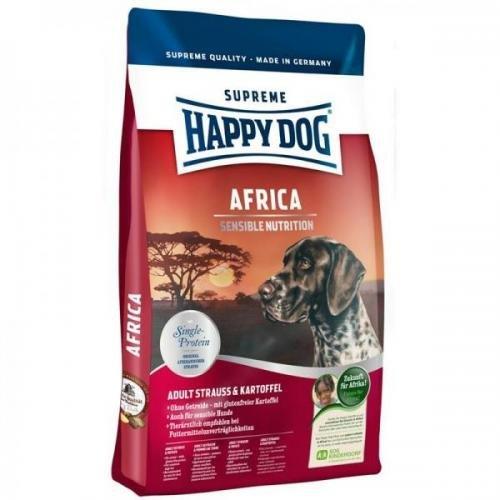 Happy Dog Supreme Africa 12,5 kg, Hundefutter, Trockenfutter