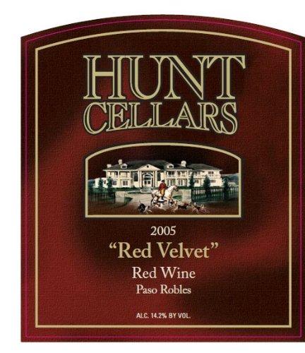 2005 Hunt Cellars 'Red Velvet' Red Wine, Paso Robles 750 Ml