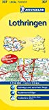 Lothringen (Michelin Localkarte)