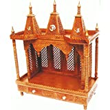 Wooden Temple In Sheesham Wood