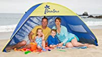 Shade Shack Instant Pop Up Family Beach Tent and Sun Shelter from Demco Incorporated