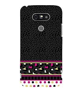 Women's Love Pattern 3D Hard Polycarbonate Designer Back Case Cover for LG G5 :: LG G5 H850 H820 VS987 LS992 H860N US992