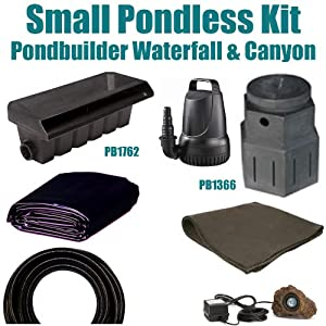 Patriot Complete Pondless Waterfall Kit