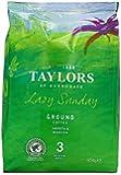 Taylors of Harrogate Lazy Sunday Medium Roast Ground Coffee 454 g (Pack of 4)