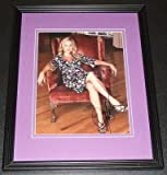 Jessica Collins Signed Framed 8x10 Photo AW Star Trek Tru Callling
