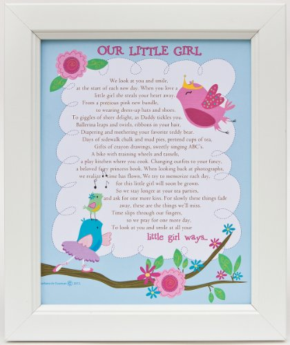The Grandparent Gift Framed Print Wall Decor, Our Little Girl - 1