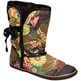 Sugar Womens Origami Boot Asian Floral Black 53524-77/001 7 UK Regularby Sugar