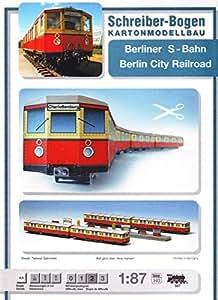 Modell Berliner S-Bahn