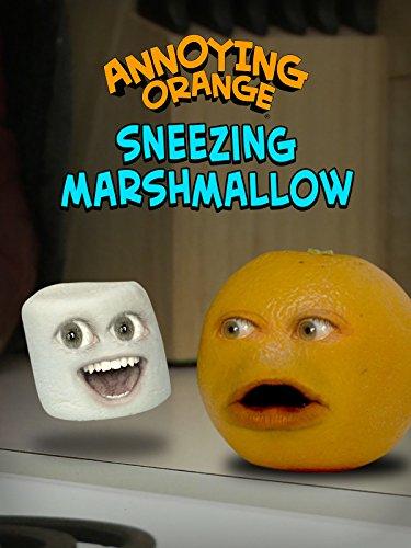 Clip: Annoying Orange - Sneezing Marshmallow