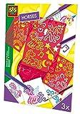 SES Creative - Plantillas con caballos, multicolor (00355)