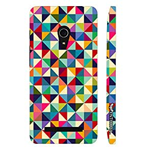 Asus Zenfone 5 Rubics Square designer mobile hard shell case by Enthopia