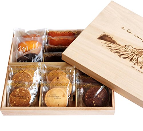 a la campagne (la campagne, a) baked pastry assortment 19 pieces (normal packing)