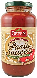 Gefen Pasta Sauce with Mushrooms, 26 Ounce (Pack of 12)