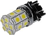 Dorman 3157W-SMD White LED Turn Signal Light Bulb, (Pack of 2)