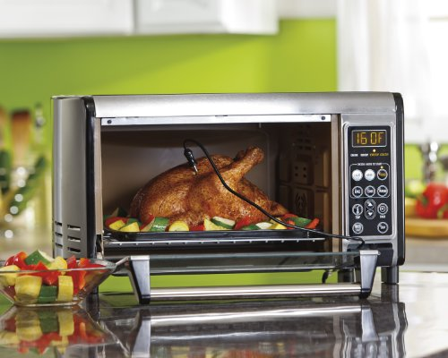 Hamilton Beach 31230 Set & Forget Toaster Oven with Convection Cooking ...