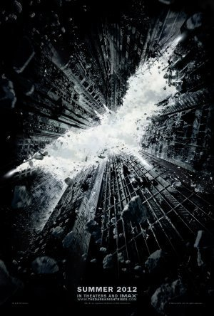 (27x40) The Dark Knight Rises Movie Christian Bale Double-Sided Original Poster Print