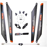 Double Horse 9053 Replacement Parts Kit, Blades, Blade Grips, Tail Rotor, Balance bar from Double horse