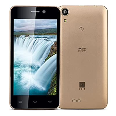 iBall Enigma Andi 4.5M (Gold, 8 GB)