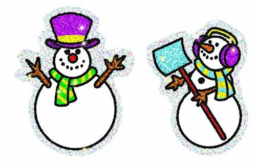 Carson Dellosa Snowmen Dazzle Stickers (2926)